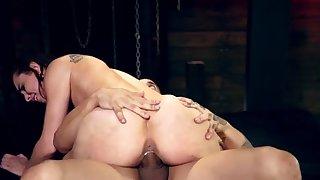 Aberrant amateur bondage first maturity Best pals Aidra Fox and